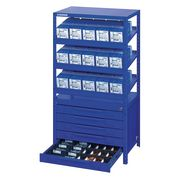 Module with 5 Drawers DIN and Standard Parts, Upper part BERA Module
